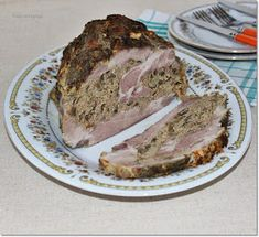 Gizi-receptjei: Töltött sertéstarja. Pork, Meat, Kale Stir Fry, Pork Chops