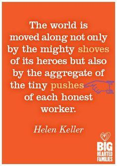 When push comes to shove, honest workers are the best!