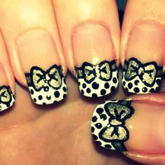 Elegant nail designs good to so many opportunities. They looked feminist and irresistible and you will set all time. They are good for some festive Nail Designs 2014, Popular Nail Designs, Elegant Nail Designs, Elegant Nails, Cute Nail Designs, Hair Designs, Fancy Nails, Love Nails, Pretty Nails