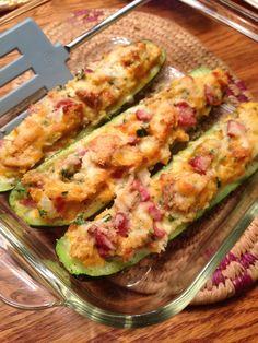 How to Make Tasty Tender Stuffed Zucchini Boats