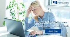 When you are in urgent need of cash and your bank has already turn down your request due to your bad credit score, then opt for bad credit short-term loans and secure your finances without any hassle. If you want to obtain these loans, then get their best deal at: goo.gl/J6vsCr