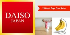Check Out These 20 Great Buys From Daiso!
