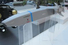 The new SOM-J (stand-off missile) cruise missile destined for the aircraft is about to begin Phase IIB risk reduction studies. Cruise Missile, New Aircraft, Spaceship Concept, Sci Fi Weapons, Weapon Concept Art, Mechanical Design, Military Weapons, Modern Warfare, War Machine