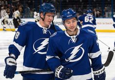 Ondrej Palat and Tyler Johnson, pic comes from the Tampa Bay Lightning photo gallery.