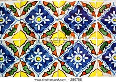 Google Image Result for http://image.shutterstock.com/display_pic_with_logo/4641/4641,1113515236,2/stock-photo-mexican-ceramic-tiles-280758.jpg