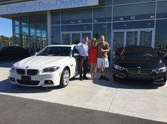 Fields BMW congratulates Tony & Kimberly B. on the purchase of their new 2016 BMW 550I AND 2016 BMW 428i Gran Coupe at our BMW location in Daytona Beach Florida. Welcome to the Fields Auto Group Tony & Kimberly - Fields Matters Because You Matter.  #FieldsBMW #BMW #5Series #4Series #550I #428I #FieldsBMW #BMW #Florida
