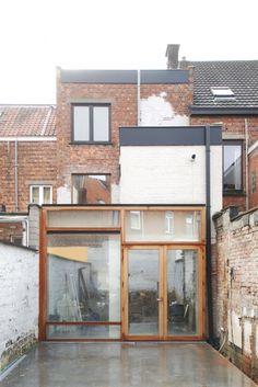 House Extensions, Ramen, Garage Doors, Exterior, House Design, Windows, Inspiration, Facades, Outdoor Decor