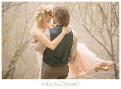 {Steve and Savannah} Enchanted Fairytale Engagement Photos in the Foggy Woods