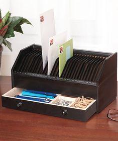Mail Organizer With Storage