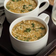 Onion and Barley Soup with Kale | Frontier Co-op