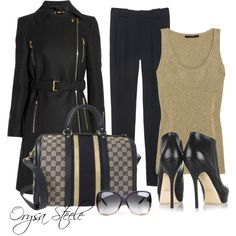 """""""Gucci Gorgeous"""" by orysa on Polyvore"""