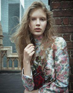 Anabel Krasnotsvetova by Michelangelo di Battista for Harper???s Bazaar Japan September 2015