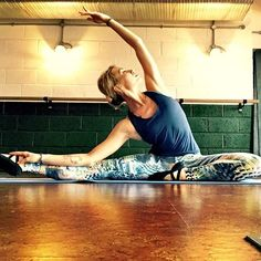 You made it through your Monday!  Stretch out and let loose like the gorgeous @karisscarlette in her #iamfearless leggings from @bodyism. Exclusively available on @copeactive. #bodyism #dareyouractivewear #copeactive #strongnotskinny #workout #ballet