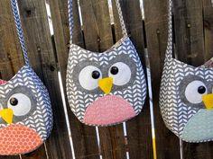 Cute owl bag pattern + tutorial