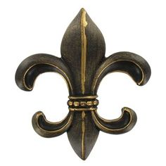 "hobby 	Elegant Bronze Fleur-De-Lis Wall Plaque can be easily placed just about anywhere accenting decor.     	Dimensions:    	  		Width: 3 1/2""  	  		Height: 4""      	Hanging Hardware:    	  		1 - Keyhole mount"