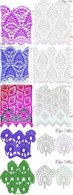Crochet Patterns... ♥ Deniz ♥