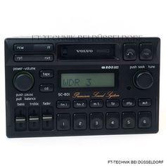 Volvo SC-801 Premium Sound System Radio mit Kassette. Bei uns im Shop.