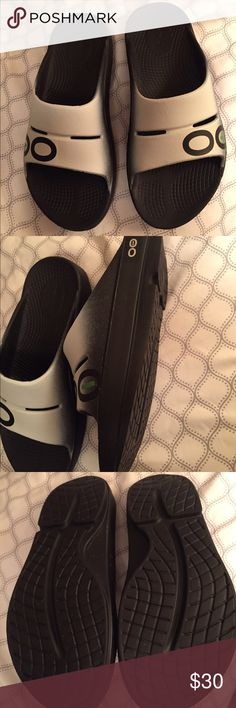 OOFOS recovery sandals Recovery sandals for after running. Brand new never worn. Size 8 women's but are technically unisex shoes Shoes Athletic Shoes