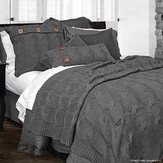 Уютный интерьер своими руками: очаровательные вязаные идеи для дома!