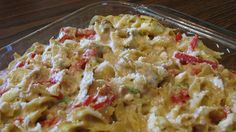 Mediterranean Tuna-Noodle Casserole. Add 1 can of rotel tomatoes ...