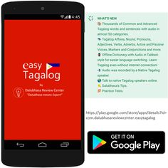 13 Best Learn Tagalog Tutorial Mobile App images in 2018