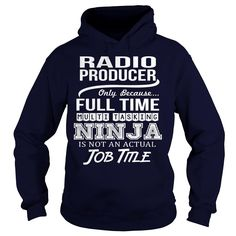 Awesome Tee For Radio Producer