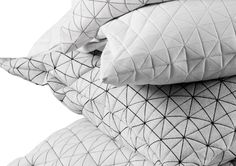 Designer Mika Barr, specializes in textile design, is now releasing her first collection in a series name: 'Geo'.