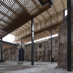 Cubierta Monasterio de San Juan,© Santiago Escribano Martínez