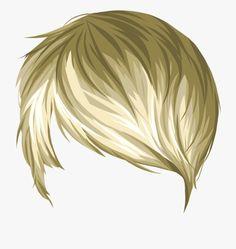 Blonde Hair Anime Boy, Anime Hair, Hair Png, New Details, Boy Hairstyles, Hair Clips, Hair Styles, Boys