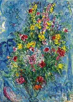 Marc Chagall. Bouquet de Printemps 1966-67