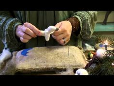 Needle Felted Animals: Chick Series - Armature and Wrapping by Sarafina Fiber Art - YouTube