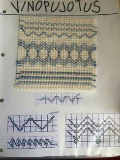 Swedish Embroidery, Beaded Embroidery, Cross Stitch Embroidery, Hand Embroidery, Crafts To Do, Arts And Crafts, International Craft, Swedish Weaving, Textiles