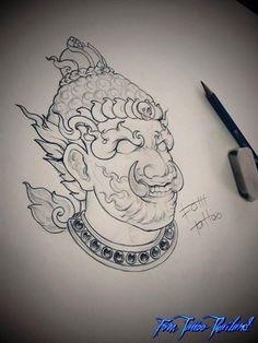 Thailand Tattoo, Thai Style, Asian, Female, Tattoos, Art, Art Background, Thai Tattoo, Kunst