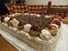 NOME: Torta Con Bignè Alla Nutella PIATTO: Dessert INGREDIENTE PRINCIPALE: Nutella PERSONE: 4 CALORIE PER PERSONA: 1031 NOTE: -RICETTA INSTANCOOK INGREDIENTI: 250 G ==== Acqua 250 G ==== Farina 250 G ==== Burro 6 ==== Uova ==== Sale 1 Barattolo ==== Nutella ==== Zucchero  PREPARAZIONETorta Con Bignè Alla Nutella : In una casseruola fate sciogliere completamente il burro nell'acqua con un pizzico di sale, portando il tutto quasi ad ebollizione