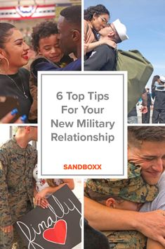 6 Must Know Tips For Your New Military Relationship If you're in a new military relationship, you probably have a lot of questions. While we don't have all the answers, we do have some top tips to help your new relationship flourish! Military Couples, Military Wedding, Military Love, Army Love, Military Relationships, Cute Relationships, Healthy Relationships, Military Girlfriend, Military Wife Quotes