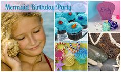Mermaid Birthday Party for Girls | Kids Parties 1-2-3