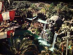 Skull Rock, Fantasyland, Disneyland, 1960-70s.