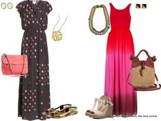 Loving these Parker and Alice + Olivia Maxi dresses for summer!