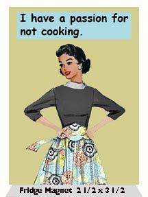 quotes re hating cooking - Google Search
