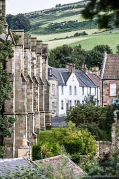 The picture pretty village of Falkland, Scotland is one of the most beautiful towns and villages in Britain.  #falkland #scotland