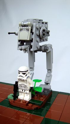 Star Wars: Return of the Jedi Lego Chess by icgetaway, via Flickr