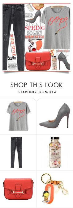 """""""SheIn Casual Style"""" by lillili25 ❤ liked on Polyvore featuring Moschino, women's clothing, women, female, woman, misses, juniors, Sheinside, polyvoreeditorial and shein"""