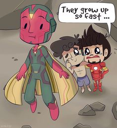 AsktheScienceBros- Vision's Parents by ecokitty