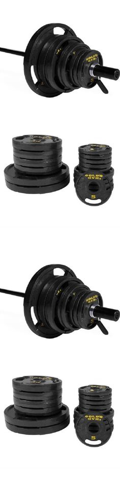 Weight Plates 179817: 300 Lb Weight Set Plate Strength Cast Iron 7 Bar Spring Collar -> BUY IT NOW ONLY: $232.77 on eBay!