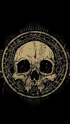 Vintage Skull Symbol - The iPhone Wallpapers