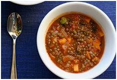 Soupe marocaine piquante aux lentilles   Club Bien Mincir