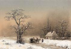 All Things Bright and Beautiful: Ivan Aivosovsky - Winter Landscape, Aaron Copland, Carl Sandburg