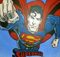 Superman Pop Art   Artist Tami Dalton  See More About Artist: muralsbytami.com https://www.facebook.com/muralsbytami