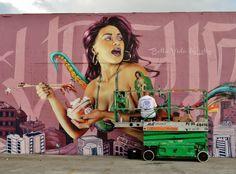 Photos of Wynwood Graffiti Murals