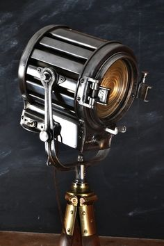 Mole Richardson theatre lamp.